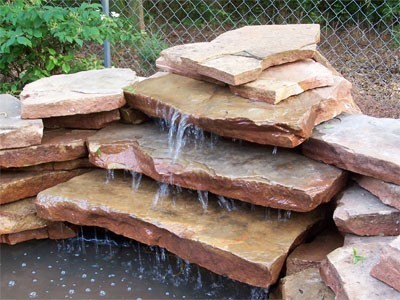 Building a little waterfall/photo attraction for small ...
